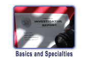 Investigator Instruments and Supplies